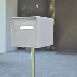 Plaque inox avec gravure laser personnalisable